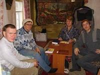 На одній з малих груп з вивчення Біблії, Росія