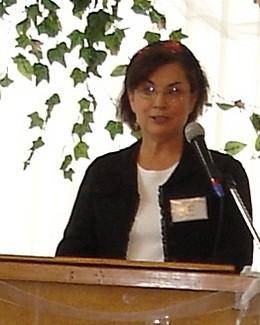 Діана свідчить на жіночій конференції в Києві, 2007